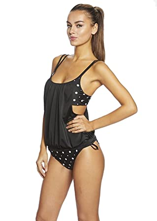 c1a0080877 Lady´s Push Up Tankini with Hotpants/ Slip two pieces diffenrent colors  f3784 -
