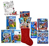 Nickelodeon Paw Patrol All Inclusive 12pc Pre-Filled Christmas Stocking! Plus Bonus ''Letter To Santa'' Set!