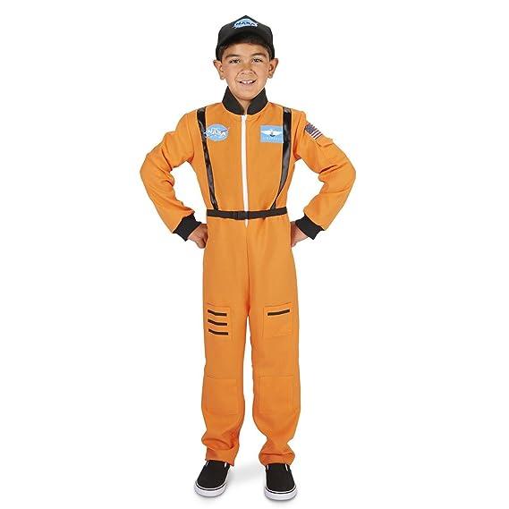 Orange Astronaut Child Costume L (12-14)