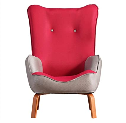 Lovely HRFFCLH Reading Leisure Seat Modern Minimalist Lazy Couch Chair Bedroom  Single Small Sofa Balcony Chair Feeding