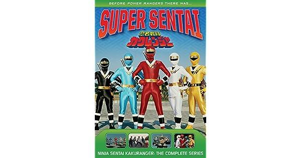 Amazon.com: Power Rangers: Ninja Sentai Kakuranger: The ...