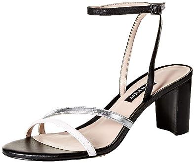 4de39a4c4f6 Nine West Women s PARLANDA Leather Heeled Sandal