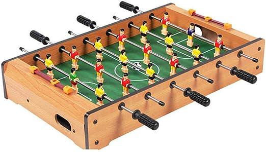 KOBWA Juego de Mesa de futbolín de Madera, Juguete para niños, 34,5 cm x 22 cm, Mini Mesa de futbolín Robusto Tabla de Jugadores Vivo Juego de Regalo: Amazon.es: Hogar