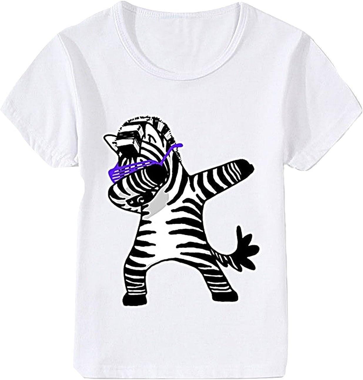 EVERYLON - Camiseta de niño con diseño de Cebra, 3 años, 90-100 cm: Amazon.es: Ropa y accesorios