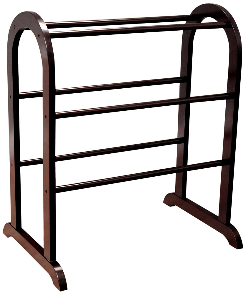 Frenchi Home Furnishing JW130 Rack, Dark Cherry by Frenchi Home Furnishing