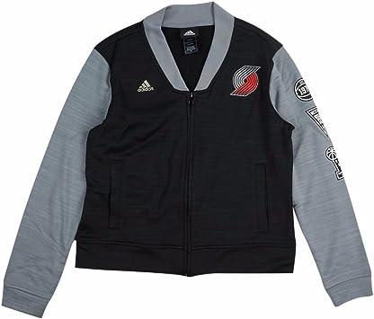 adidas Portland Trail Blazers NBA Negro Pista Chaqueta de ...