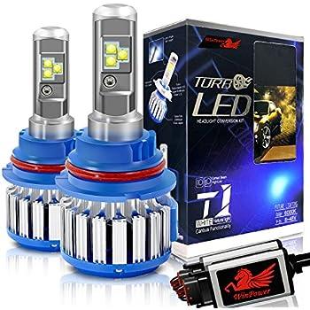 Amazon Com Auxbeam Led Headlight Bulbs F S2 Series 9007