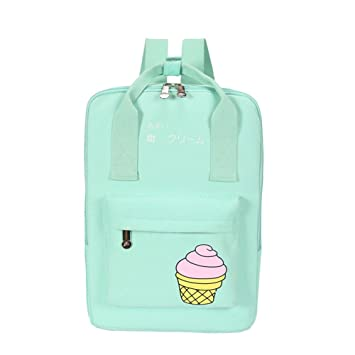 7e90c15a70d4 Chic Star Girls Cute Young Korean Style Square Backpack Schoolbag ...