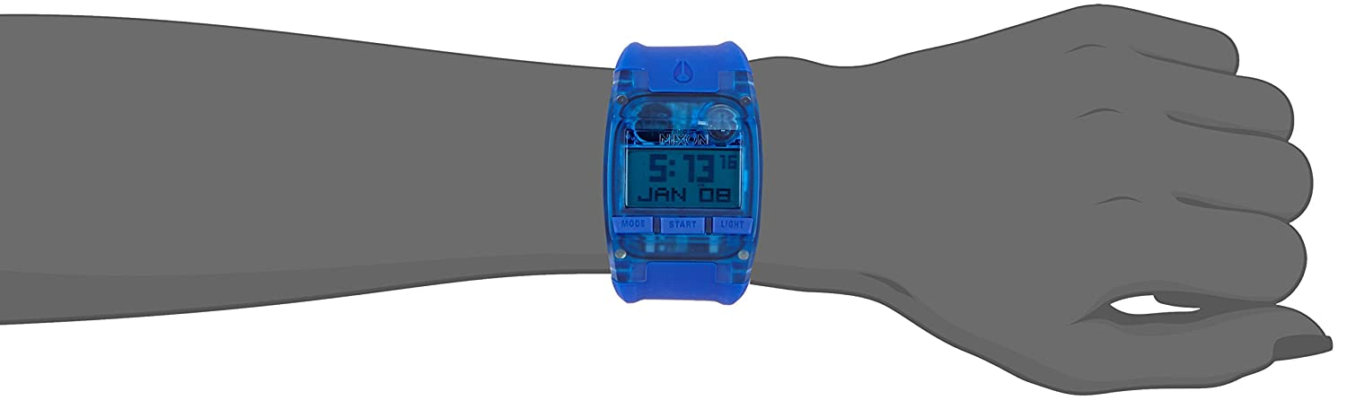 e1f7b32ffb87 Nixon silicona Comp All Cobalt Blue A4082041-00 color - A4082041-00 ...