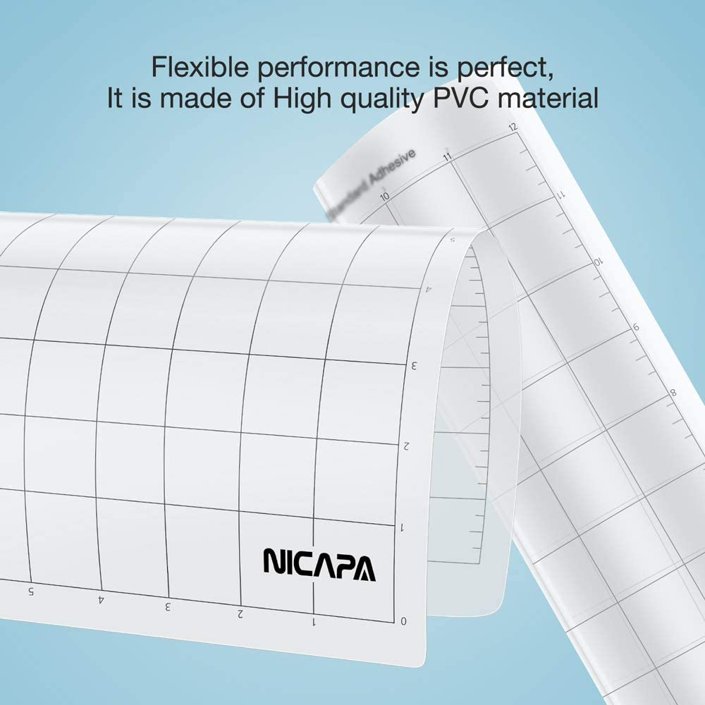 2 pack (12 30cm) ) - Nicapa Replacement Cutting Mat, 30cm by 30cm (2 pack) : Amazon.es: Juguetes y juegos