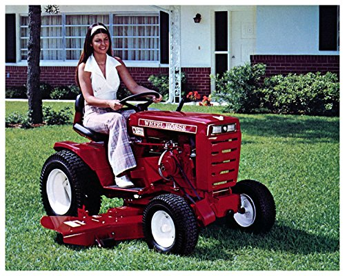 1974-wheel-horse-c100-8-speed-lawn-garden-tractor-photo-poster