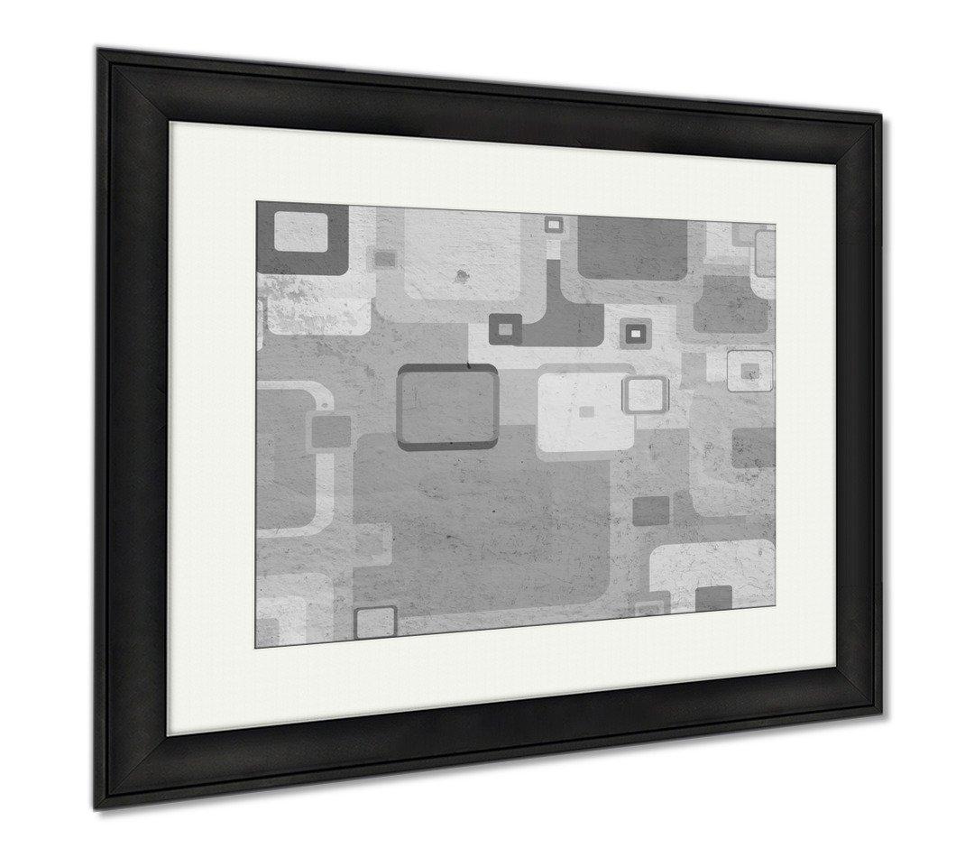 Ashleyグランジ壁にキャンバス正方形で、壁アートホーム装飾、ag495492 B07CF7GCCH 30