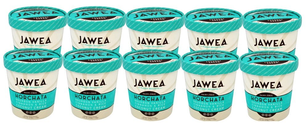 Jawea Frozen Desserts, Horchata, 16 Fluid Ounce (Pack of 10)