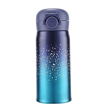 Amazon.com: Smile-bi 350/500 ml Starry Sky Termo de acero ...