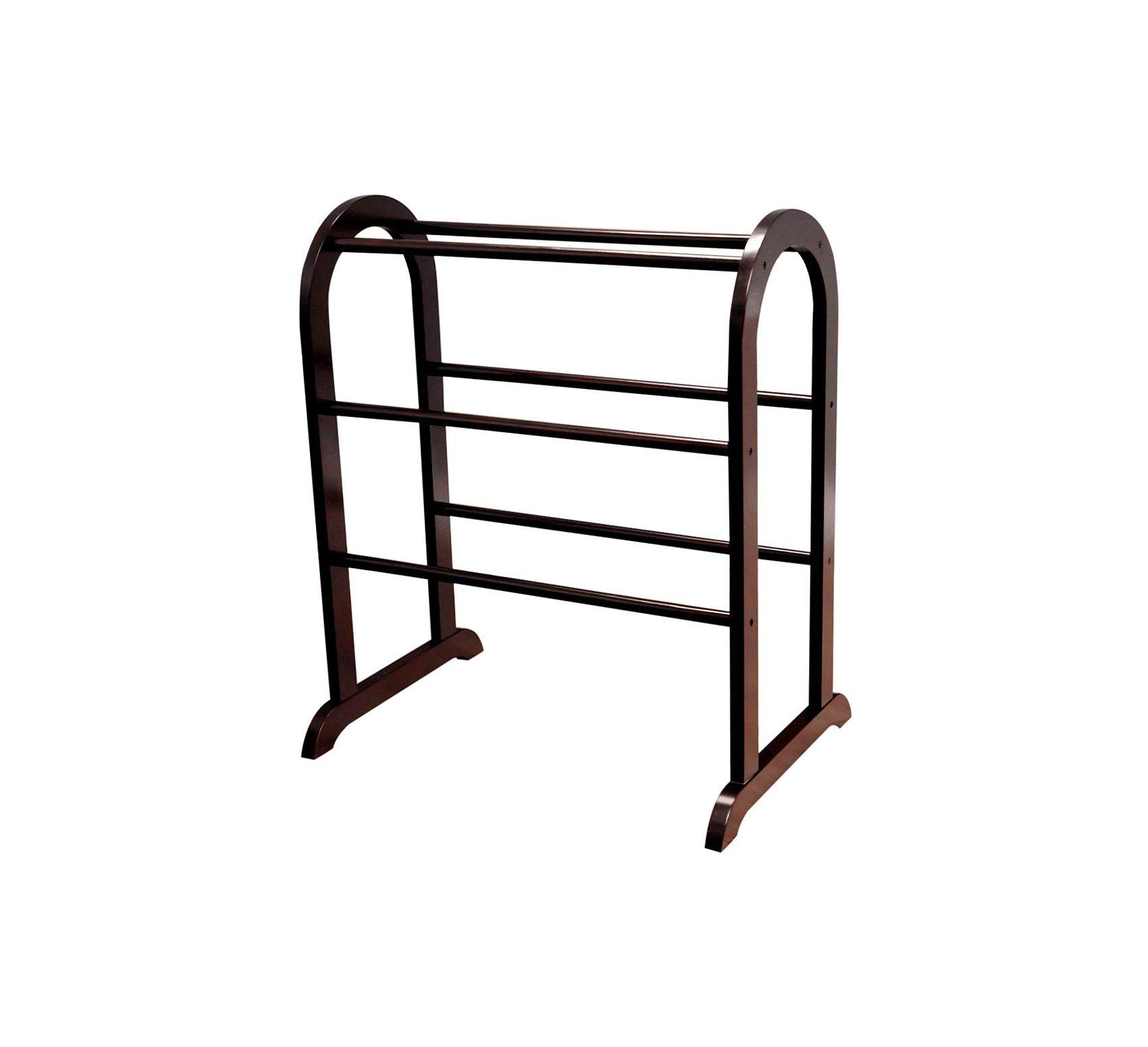 Wood & Style Furniture Quilt Rack Home Office Commerial Heavy Duty Strong Décor