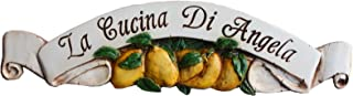 product image for Piazza Pisano Lemon Decor Personalized Door Topper