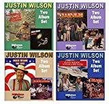 JUSTIN WILSON Comedy Collection * 8 Different Original Albums on 4 NEW CD's *