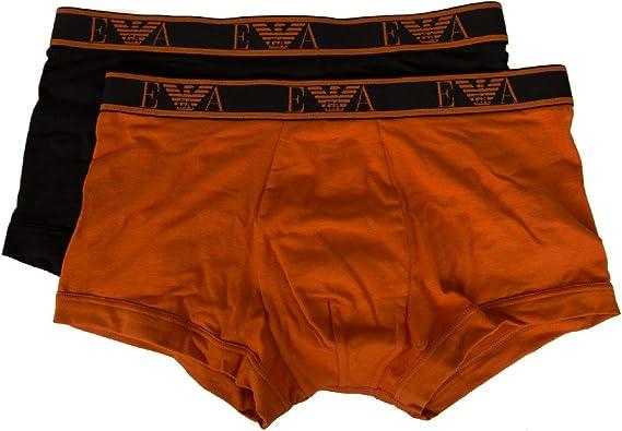 Emporio Armani Pack 2 Boxer Calzoncillos Hombre Trunk bipack ...