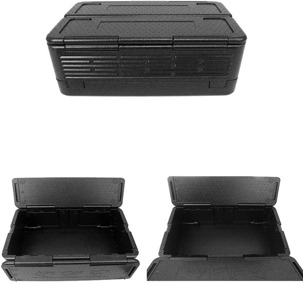 PKJI Incubadora Plegable, Caja de Almacenamiento de 24 l, incubadora de Alimentos Epp, Caja de Almacenamiento de Transporte de Alimentos Frescos de supermercado, refrigerador para automóvil Negro: Amazon.es: Hogar