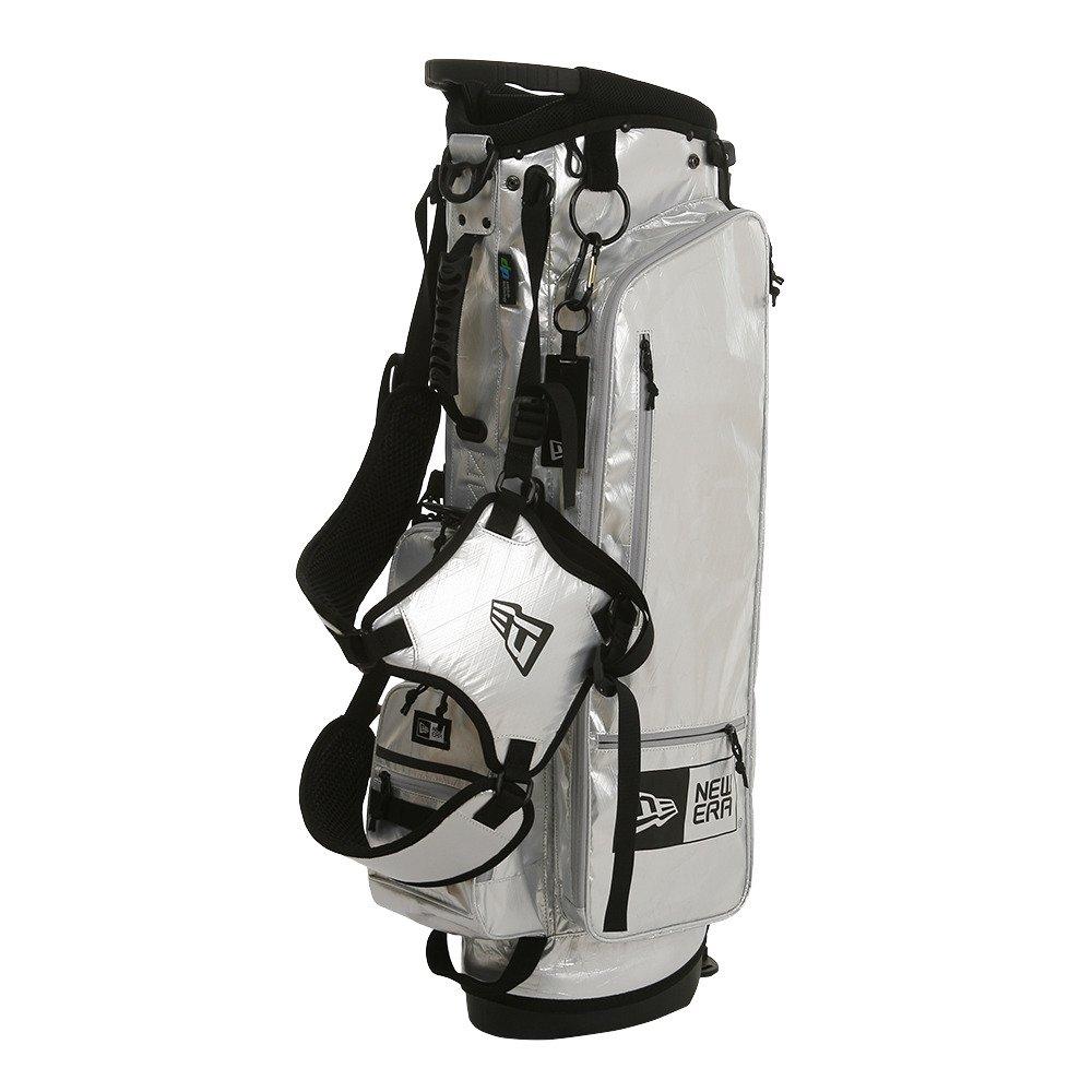 (ニューエラ) NEW ERA ゴルフ キャディーバッグ スタンド X-PAC グレー/ブラック GOLF ONE SIZE B077RQTGPG