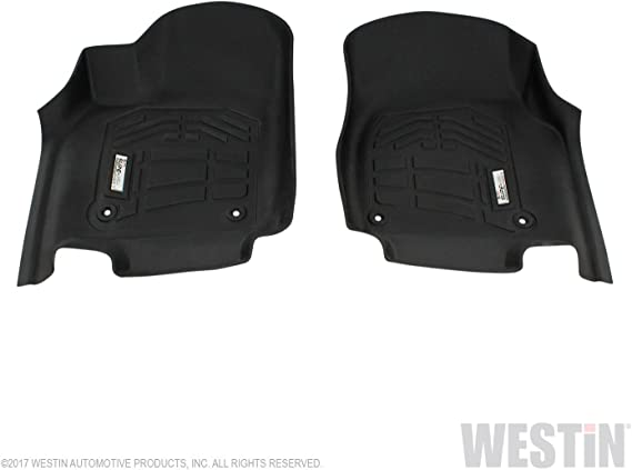 Westin Automotive Products 72-113085 Black Sure-Fit Floor Liners 2nd Row