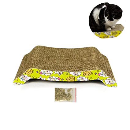 FOONEE Rascador de Gatos de cartón, Recambio para rascador de Gatos – Durable Gato rascador