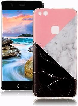 Yunbaoz Funda Compatible para Huawei P10 Lite Mármol, Diseño Mármol Carcasa Suave Goma Silicona Soft Marble Case Suitable for Huawei P10 Lite: Amazon.es: Electrónica