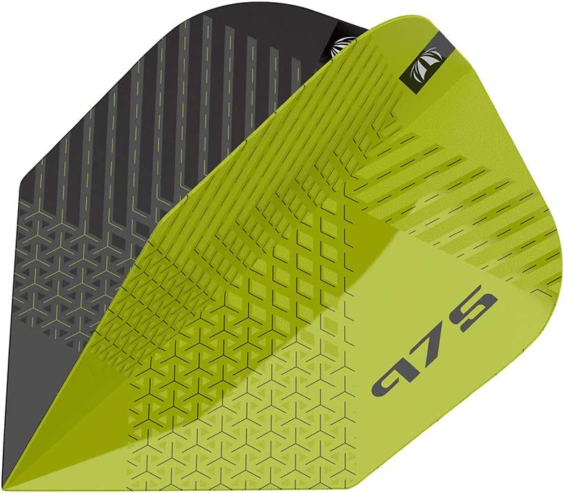 18 g Target Darts 97.5/% Soft Tip Darts Set 975 11 18G 97,5/% Tungsteno Punta Suave Dardos Negro y Verde Unisex Adulto