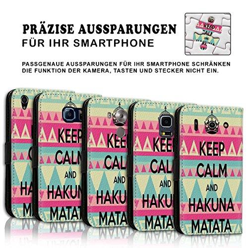 Wallet Book Style Flip Handy Tasche Case Schutz Hülle Schale Motiv Etui für Apple iPhone 5 / 5S - Design Flip MVD363