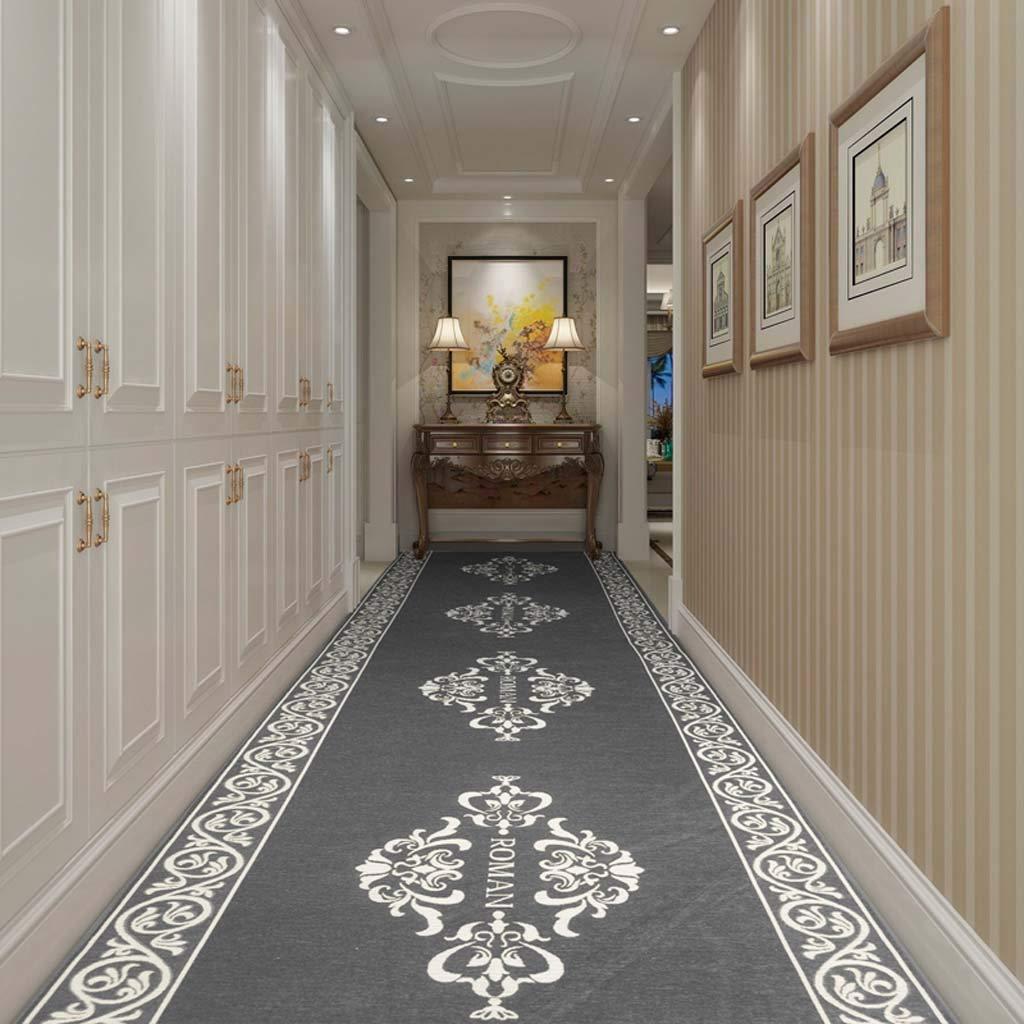 カーペット エリアラグ滑り止め大ドアマットヴィンテージ幾何学模様のカーペットフロアマット階段パッド用リビングルーム寝室廊下キッチン (サイズ さいず : 1.6m*5m) 1.6m*5m  B07PJZVZ86
