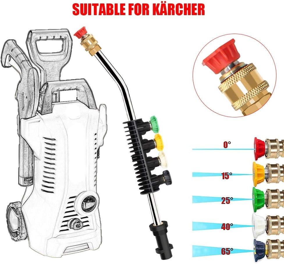 Compatible Pressure Washer 18ft Telescopic Lance Extendable Karcher EasyForce