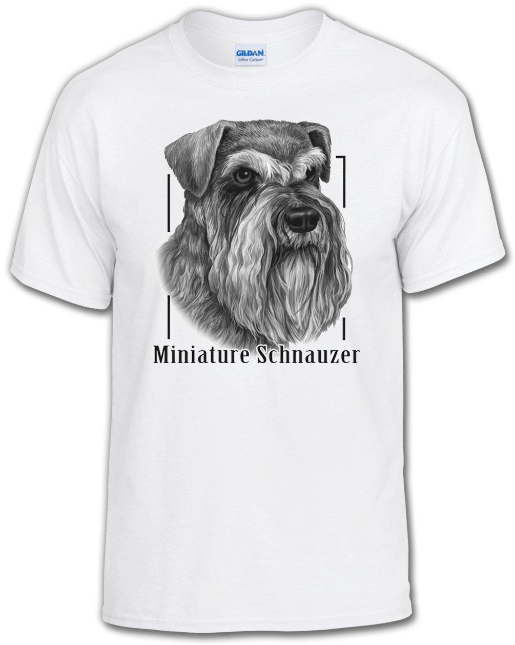 超人気高品質 Dog Lover Lover Tシャツ:ミニチュアシュナウザー Adult B01DCHHU1Y XXX-Large Adult ホワイト B01DCHHU1Y, 新潟菓子本舗:423d5dcd --- a0267596.xsph.ru