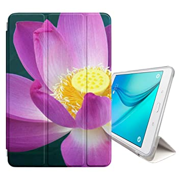 Amazon fjcases lotus flower beauty cover stand back case with fjcases lotus flower beauty cover stand back case with auto sleepwake for samsung mightylinksfo