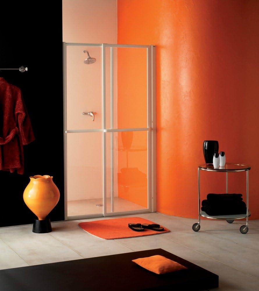 La puerta de la ducha en hueco ANCOMALIN de cristal transparente ...