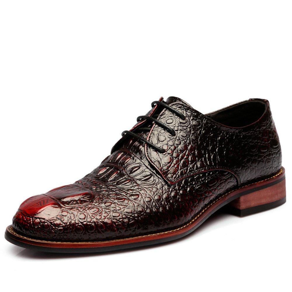 Spitze Business-Lederschuhe Herrenschuhe der Britischen Männer Hochzeit Schuhe