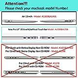 iLeadon Macbook Air 13 inch Case 3 in 1 Bundle