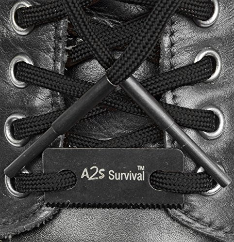 Essential-Survival-Kit-Paracord-Fire-Starter-Laces-Compass-Key-Chain-Emergency-Whistle-Carabiner-Hiking-Survival-Gear