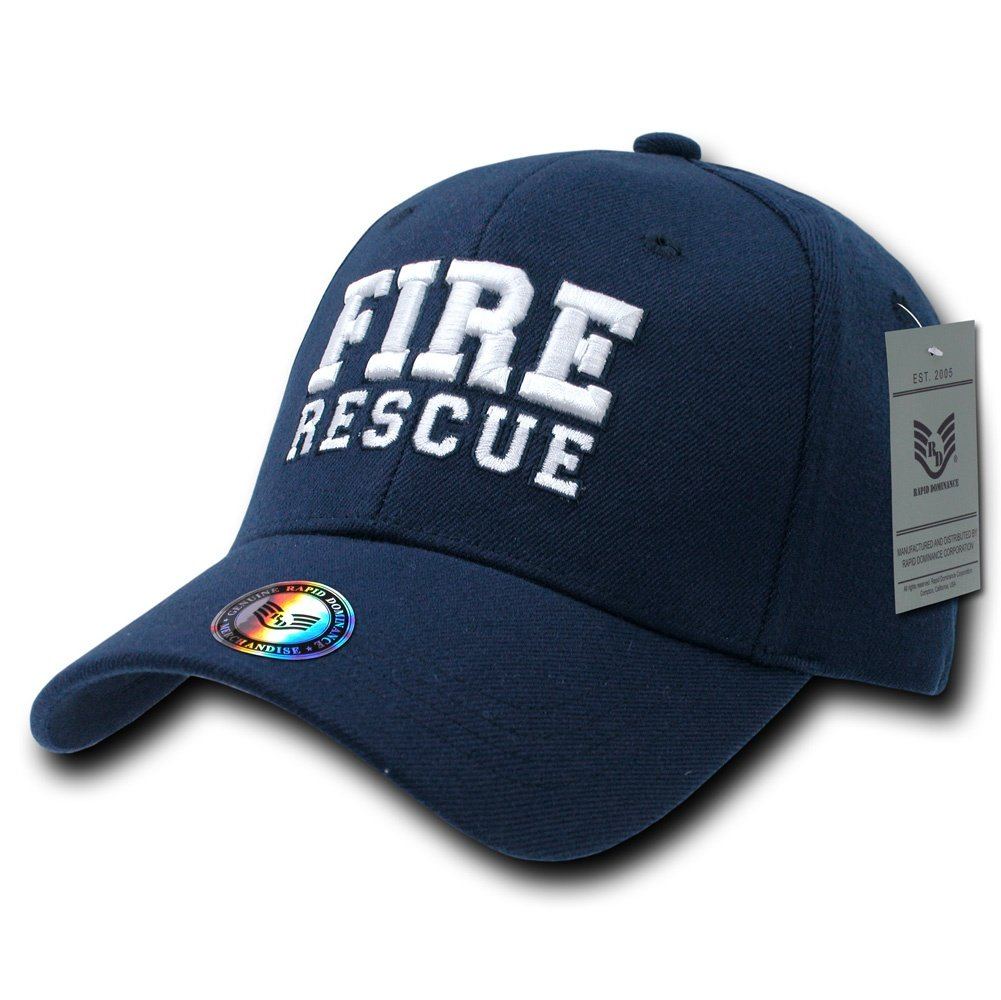 Rapiddominance Fire Rescue FitAll Flex Cap Rapid Dominance R82-FRS-NVY-06-p