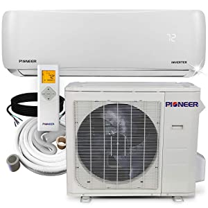 PIONEER Air Conditioner Pioneer Mini Split Heat Pump Minisplit Heatpump, 24000 BTU-208/230 V