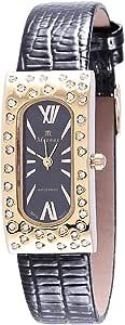 Moonax Gold Quartz Women's Casual Watch Leather Strap - 9-4038 AL21