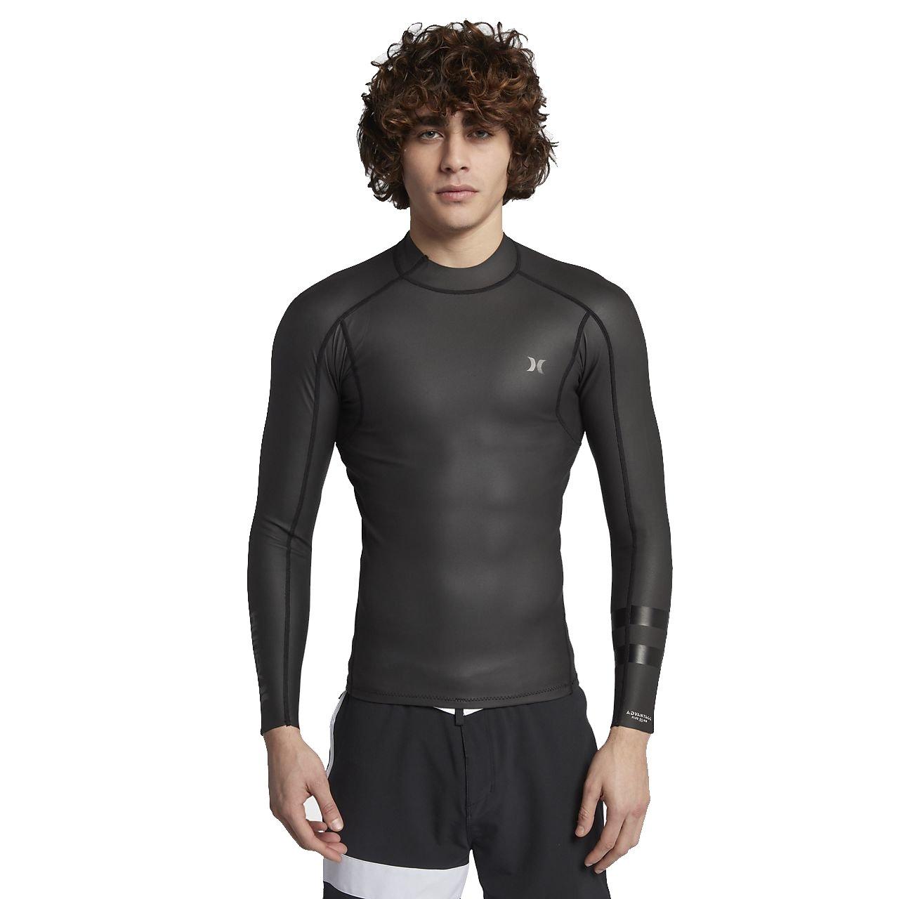 Hurley 890930 Men's Advantage Plus Windskin Jacket, Black - X-Large by Hurley