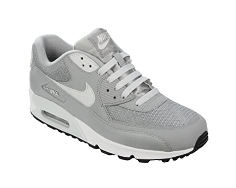 Nike Air Max 90 Essential Weiss Neongelb Schwarz Grau 537384 118