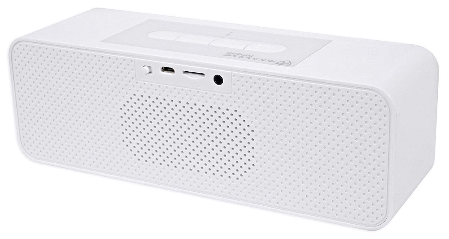 Rockville RPB20W 30 Watt Portable//Home//Desktop Bluetooth Speaker w//SD+Aux In
