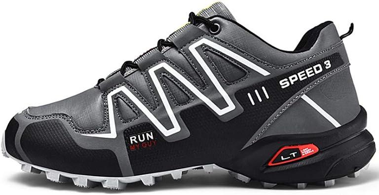 CGBF - Zapatos de escalada para hombre, resistentes al ...