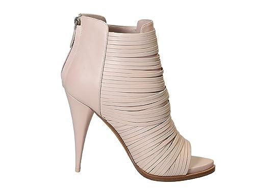Givenchy Mujer 526992412032 Rosa Cuero Botines: Amazon.es: Zapatos y complementos