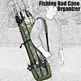 Search : Large Capacity Fishing Rod Case Organizer,Long Shape Thickeness Oxford Canvas Package Bag For Fishing Tools Storage