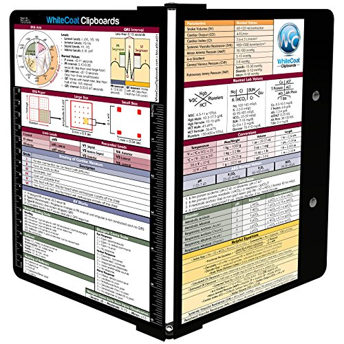 Whitecoat MedInfo Clipboard Medical Edition (Medical Binder)