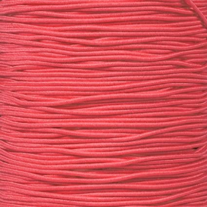 """PARACORD PLANET Elastic Bungee Nylon Shock Cord 2.5mm 1//32 1//2 inch Crafting Stretch String 10 25 50 /& 100 Foot Lengths Made in USA 5//16 3//8 1//8/"""" 5//8 3//16 1//4 1//16"""