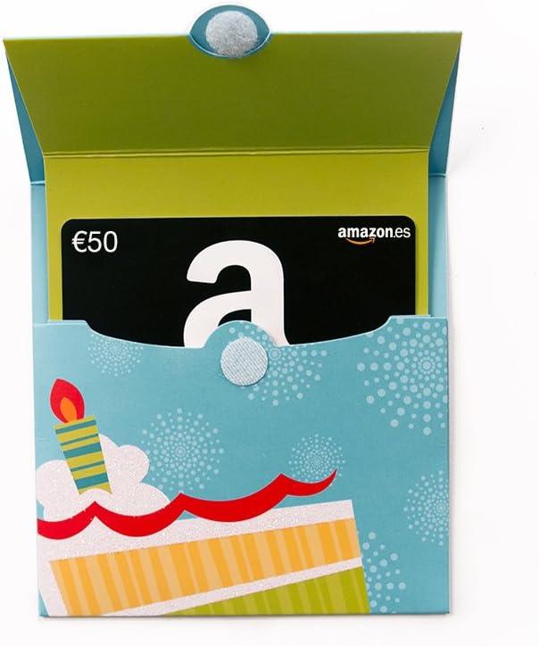 Tarjeta Regalo Amazon.es - Tarjeta Desplegable Cumpleaños