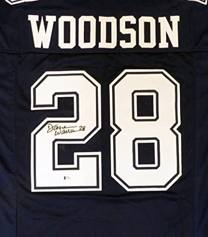 e56845fcf Dallas Cowboys Darren Woodson Signed Auto Blue Jersey - Beckett Certified